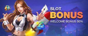 slot bonus free credit 50%